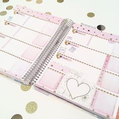 One of my favorite spreads, makes me want to switch back to my horizontal planner #planneraddictproblems. I'll be (trying to) work on new sticker designs and also clay work. Don't forget the current coupon code to save 15% off your order (see previous post). Orders placed during the promotion period will be ready for shipping this weekend. #planneraddict #plannerlove #plannercommunity #erincondren #eclp #eclphorizontal #plannerstickers #etsy #stationeryaddict #paperlove #mahalmade