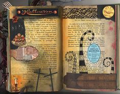 From the Craftster Community: Altered Journal ~ finished! (many pics) - PAPER CRAFTS, SCRAPBOOKING & ATCs (ARTIST TRADING CARDS)
