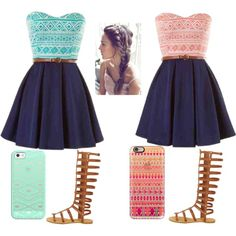 Best friend matching by zoeymarie17 on Polyvore featuring polyvore, fashion, style, Casetify and clothing
