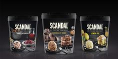 The SCANDAL by Stelios Parliaros ice cream family has been a successful Greek brand for years since it is ...