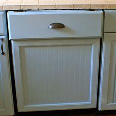 hide the dishwasher, I like this!  For More... - Dream It, Do It: DIY Kitchen Makeover - Bob Vila