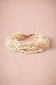 Maisie Wrap Bracelet in Shoes & Accessories Jewelry at BHLDN #mwbridalstyle #bhldnbride