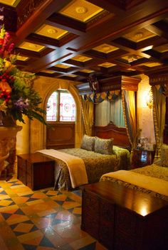 A private tour of The Cinderella Castle Suite in the Magic Kingdom at Walt Disney World