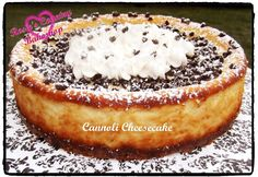 My family loves Italian Cannoli and ltalian Cheesecake, whats better than combining these two desserts into one? ...