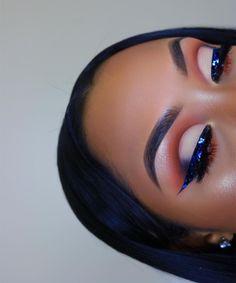 Gorgeous Makeup: Tips and Tricks With Eye Makeup and Eyeshadow – Makeup Design Ideas Makeup Eye Looks, Beautiful Eye Makeup, Creative Makeup Looks, Flawless Makeup, Cute Makeup, Glam Makeup, Pretty Makeup, Eyeshadow Makeup, Makeup Tips