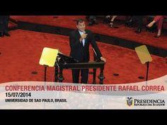 Conferencia magistral ´Revolución Económica y Educativa en el Ecuador´en...