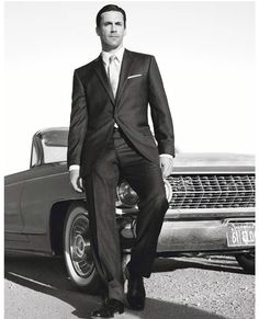 Yes Jon Hamm, I will marry you. Especially in that suit.