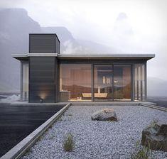 1,078 vind-ik-leuks, 7 reacties - ARCHITECTURE (@dna_studio) op Instagram: 'Iceland Bachelor Pad Andy Walsh Seattle, United States #dnastudio #architect #architecture…'