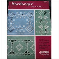 Penelope Embroidery booklet N64 Hardanger 6 designs on eBid United Kingdom