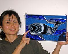 31 - Akiko's first window, foil method.