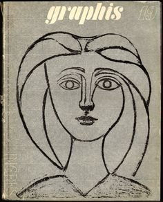 Graphis 19, 1947 | Cover art by Picasso