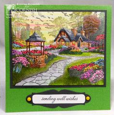 Well Wishes by stampwithkristine - Cards and Paper Crafts at Splitcoaststampers