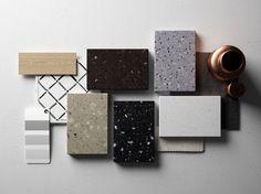 Superficie decorativa 3D de material compuesto HI-MACS® - Lucia by HI-MACS® by…