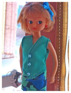 Feber Chabel Patterns Chabel (Spanish Licca doll clothes modelo no 2)
