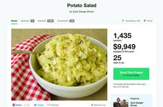Kickstarter reacts to that $10,000 potato salad project