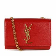 Saint Laurent Mono Patent Leather Satchel Bag  available now