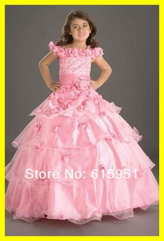 pink and gold gown for tweens - Google Search