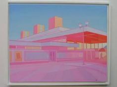 "Saatchi Art Artist Jim Montgomery; Painting, ""Railway Station"" #art"