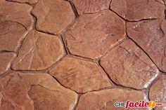 Il cemento stampato per la realizzazione di pavimenti in calcestruzzo