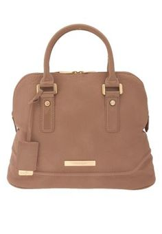 Ivanka Trump  Add that touch of sheer femininity to your attire with this classy satchel from Ivanka Trump. Built in a subtle nude hue with a structured style, it exudes a premium vibe and makes a perfect accessory for formal events or high profile social dos