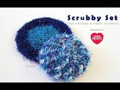 Crochet Scrubby Set Left Handed: Red Heart Scrubby, My Crafts and DIY Projects