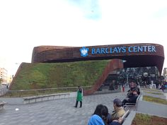 Past: Nate Griswold, Inhabitect's founder, played a vital role in the design and installation of this steep sloped green roof at the Barclay's Center in Brooklyn, NY. Contact info@inhabitect.com for more details.
