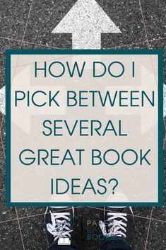 You think you're ready to write a book, but you have two, three, or four different ideas? How do you pick which book idea to write? Check out this two step method for choosing a book idea Fiction Writing, Writing Advice, Writing Resources, Writing Help, Writing A Book, Plotting A Novel, Book Prompts, Nonsense Words, Sight Word Practice