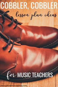 A free worksheet, lesson ideas, and a classroom-friendly video for the song Cobbler, Cobbler. Definitely need to bookmark this as an elementary music resource!