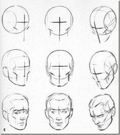 dimensions pour dessiner un portrait | Le fourbi à Vay - Page 21 - Lascopainters…