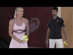 Djokovic vs. Sharapova: Speed Bowling
