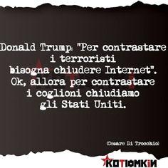 #DonalsTrump