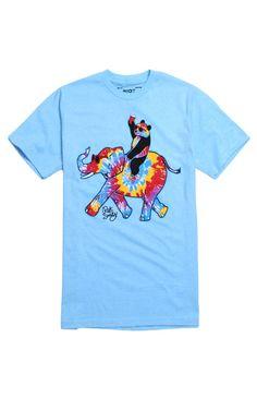 Riot Society Trippy Elephant Ride T-Shirt