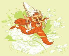 illustration jobs by Daan Botlek, via Behance