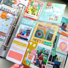 like the card in the lower left that has snippets of patterned papers on... something like that would be good to tie togetehr all the patterns on a page!