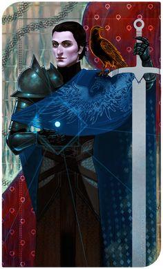 Dragon Age - Grey Warden Amell by agata-j
