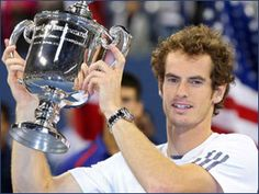 British tennis ace Andy Murray defeated Serbian Novak Djokovic at the Arthur Ashe stadium to win the US Open 2012 finals. Murray's previous best was winning the Olympic gold medal defeating Swiss master Roger Federer. Tennis News, Sport Tennis, Rafael Nadal, Roger Federer, Andy Murray Olympics, Us Open Final, Davis Cup, Sports Personality, Sport Online