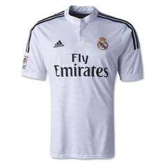 f7c6c6c6d adidas Men s Real Madrid 14 15 Home Jersey White Black BlaPink Equipacion  Real