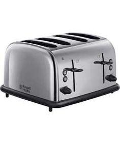 argos breville vtt233 4 slice toaster black 23. Black Bedroom Furniture Sets. Home Design Ideas