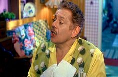 Jerry Stiller (as Wilbur Turnblad) from John Waters' Hairspray, 1988 #JerryStiller #JohnWaters #Hairspray