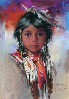 harley brown paintings | Harley Brown. love those beautiful eyes!