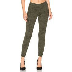 Splendid Brushed Tri-Blend Legging ($115) ❤ liked on Polyvore featuring pants, leggings, elastic waist pants, splendid leggings, splendid pants, white elastic waist pants and ribbed pants