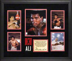 Muhammad Ali Framed 5-Photograph Presentation   Details: Champions - Limited Edition of 500