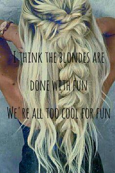 Waterparks Blonde
