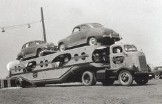 CCI Dodge COE and MHS trailer 1940's