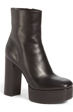 Alexander Wang 'Cora' Platform Boot (Women) available at Shoes Heels Boots, Heeled Boots, Bootie Boots, Saree Designs Party Wear, Black Wedge Boots, Platform Ankle Boots, Designer Boots, Alexander Wang, Shoes