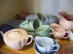 Vintage At The Corner House: Weekend Finds And Utility Ware China Collection