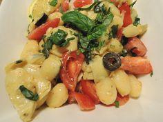 Recept: Gnocchi met tomaat, artisjokharten