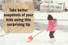 Take better snapshots of your kids