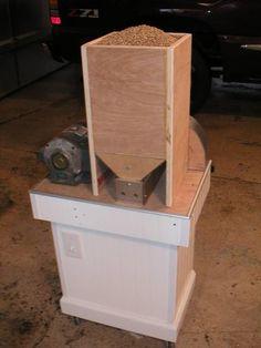 Grain mill hopper / feeder