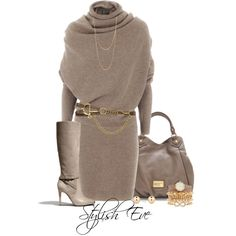 """""""aml"""" by stylisheve Glamouröse Outfits, Classy Outfits, Stylish Outfits, Fall Outfits, Winter Fashion Outfits, Work Fashion, Autumn Winter Fashion, Fashion Dresses, Outfit Winter"""